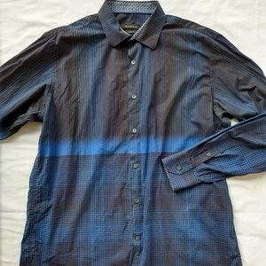 Bugatchi L Long Sleeve Button Down Dress Shirt